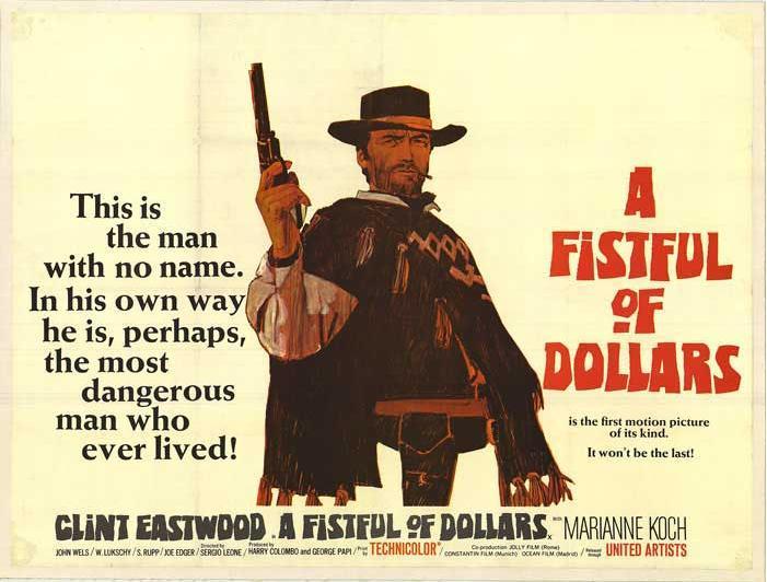 Ennio morricone a fistful of dollars