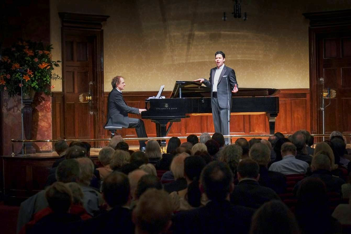 Antonio Poli and Jan Philip Schulze at the Wigmore Hall for Rosenblatt Recitals © Jonathan Rose