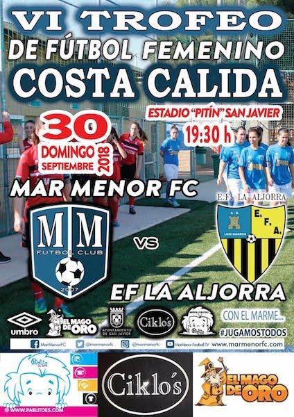Fútbol Fem. VI Trofeo Costa Cálida