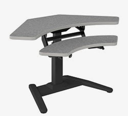 685W Adjustable Height VariTask Desk