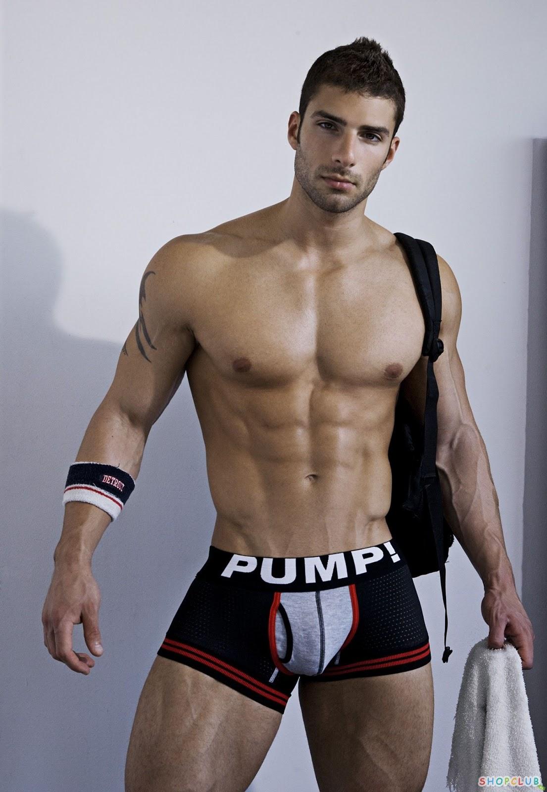 stereotype men: Adam Ayash Pump underwear