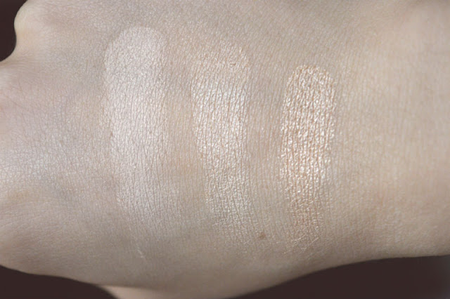 Pür Minerals Afterglow Illuminating powder review swatch
