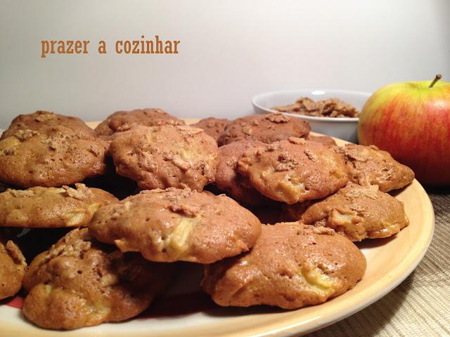 prazer a cozinhar - biscoitos de maçã e cereais