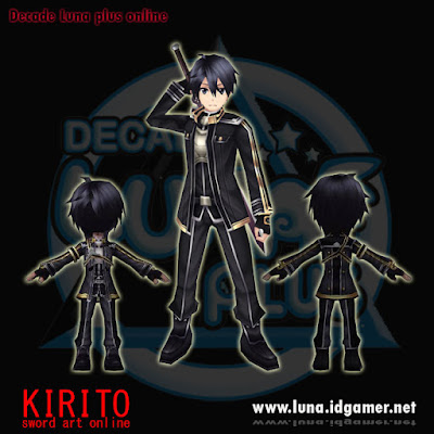 Kirito SAO Decade luna plus online private server