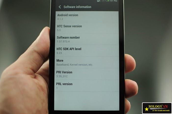 HTC ONE J nhật bản