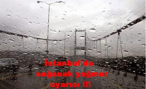 istanbul yagmur