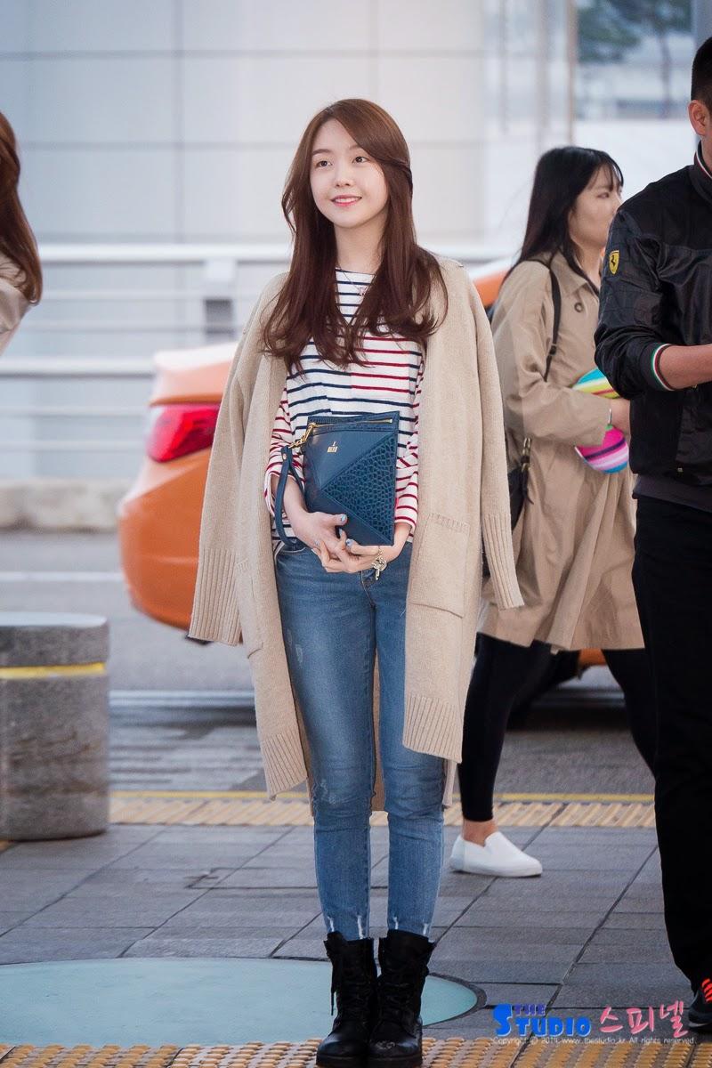 jiyeon fashion airport  TARA Jiyeon  Pinterest