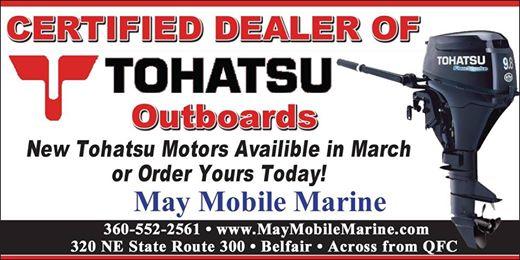May Mobile Marine Is Hiring!! Full Time Marine Mechanic