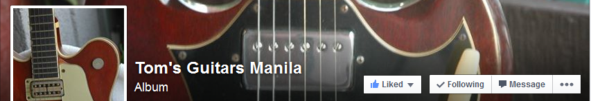 Tom's Guitars Manila