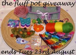 I won Fluffpot's Giveaway!