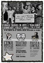Jornada solidaria con trabajdorxs denunciadxs en la huelga del 29s de 2010