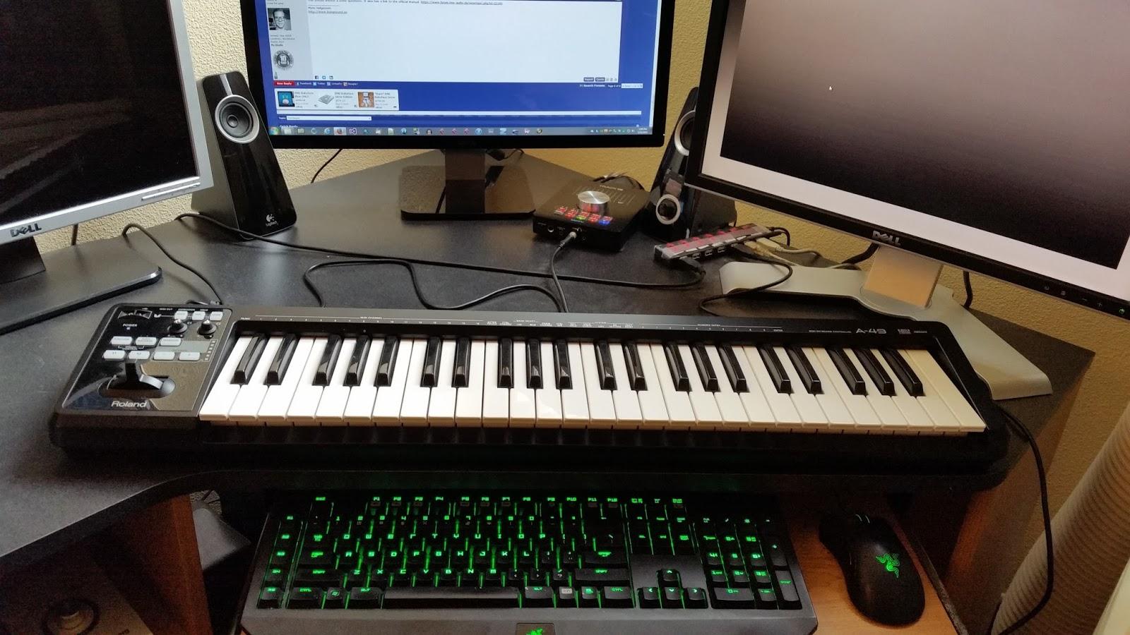 fl studio midi keyboard setup