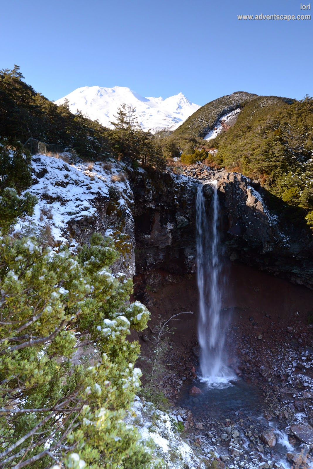 Philip Avellana, iori, adventscape, Mangawhero Falls, Mt Ruapehu, NZ, New Zealand, waterfalls, nature photos, LOTR, Lord of the Rings, filming location