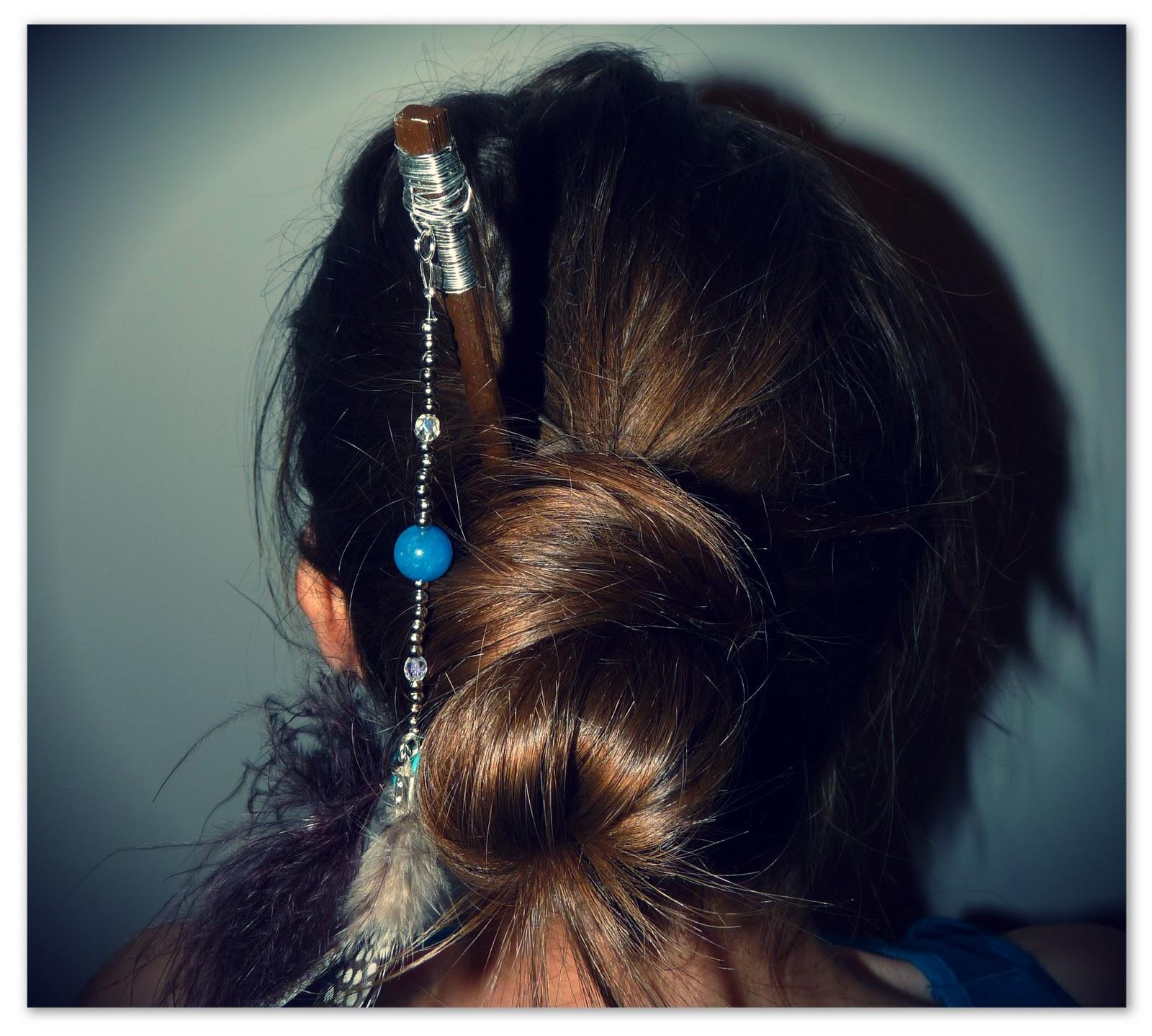 Tutoriel en vid o cr er soi m me ses piques cheveux - Creer ses bijoux soi meme ...
