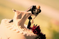 Tyson and Carrie's wedding at Sanders Estate - Cake topper