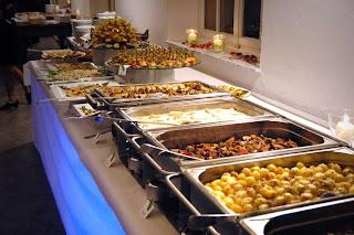Tagung, Buffet, Essen