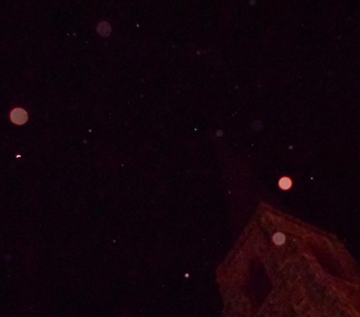 orbs near steeple