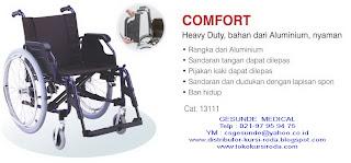 spesifikasi dan gambar kursi roda comfort paling mewah