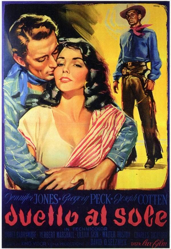 Risultati immagini per duel in the sun film 1947