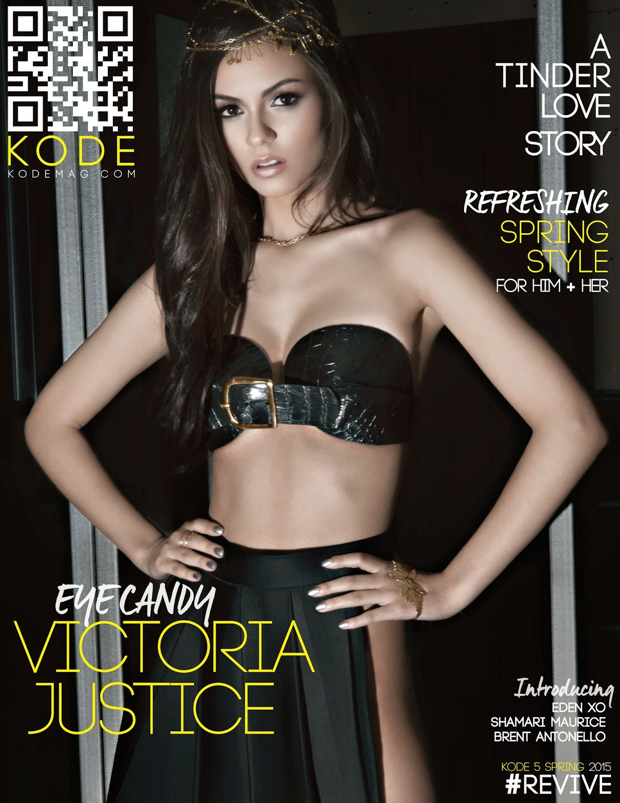 Actress, Singer @ Victoria Justice - Kode Magazine Spring 2015