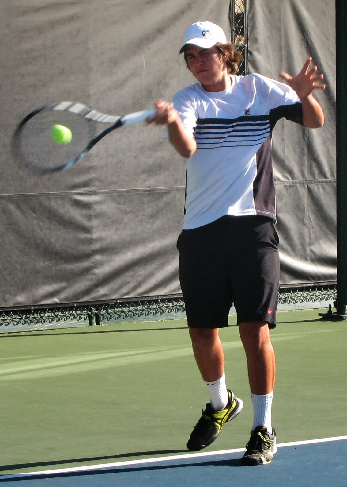 Altamirano loses in final of Boys 18 Nationals