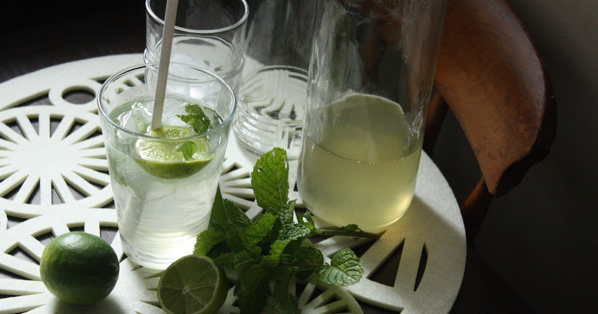 food by jessica: Lime and Mint Cordial