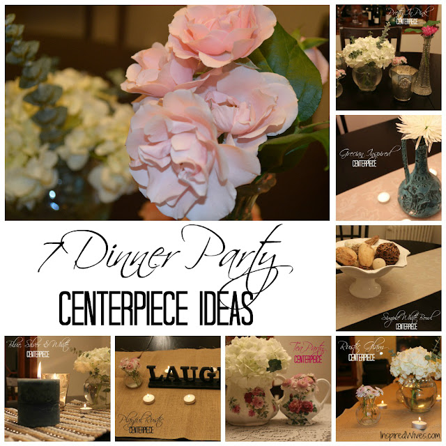 Inspired I Dos: 7 Dinner Party Centerpiece Ideas