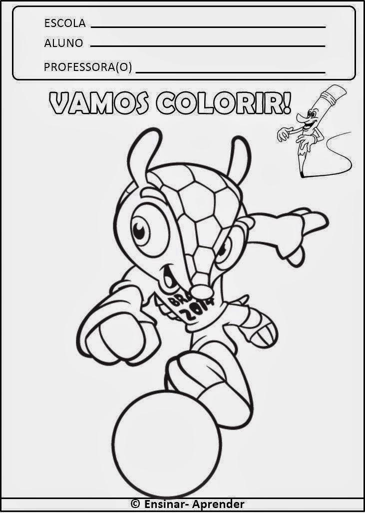 Colorir o Mascote fuleco