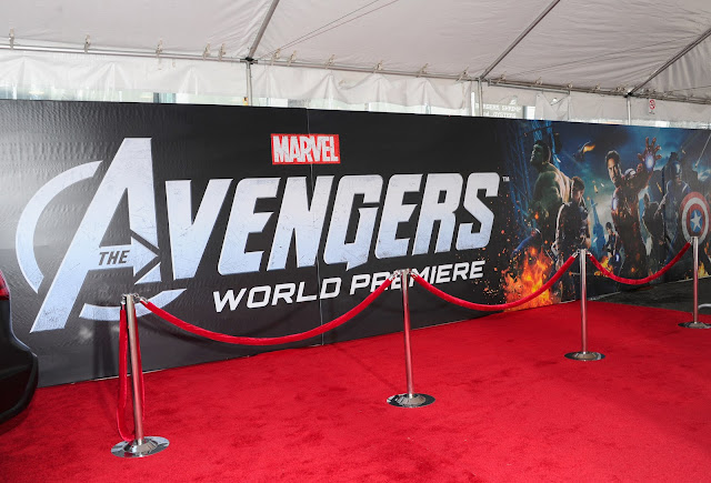 The Avengers Premiere