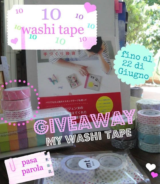 SORTEO EN WASHI TAPE BLOG