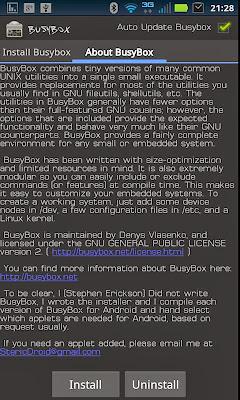 BusyBox Pro app