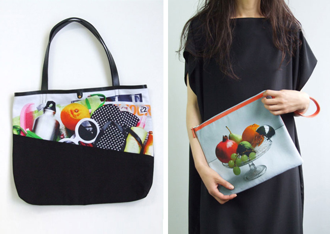 azumi and david, ss15, still life bag