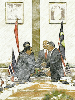 Yingluck and Najib