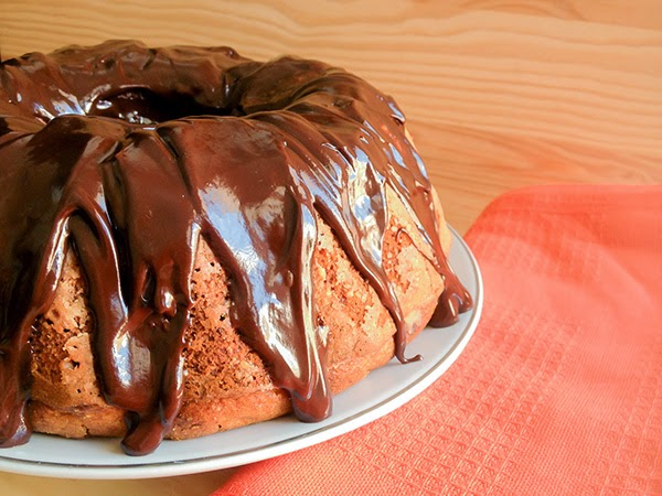 bundt cake calabaza chocolate