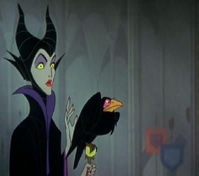 Maleficent Diaval Crow
