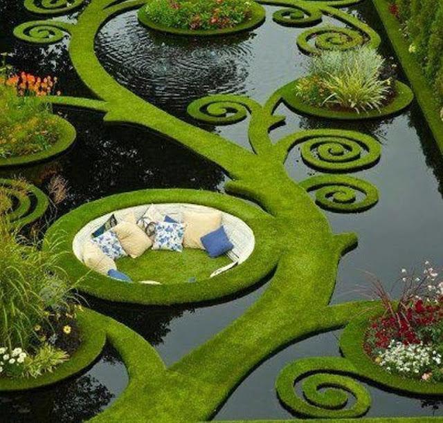 Jardines sobre el agua