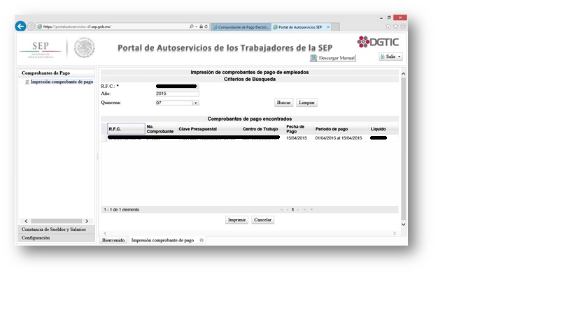 solucionado acceso al portal de recibos de nómina sep solución