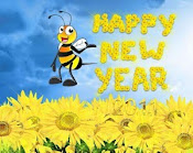 Buzzin' by to say Happy New Year!
