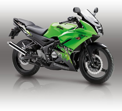 Gambar foto Terbaru Motor Kawasaki 150 RR 2013