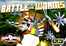 Power Rangers Battle of the Worm