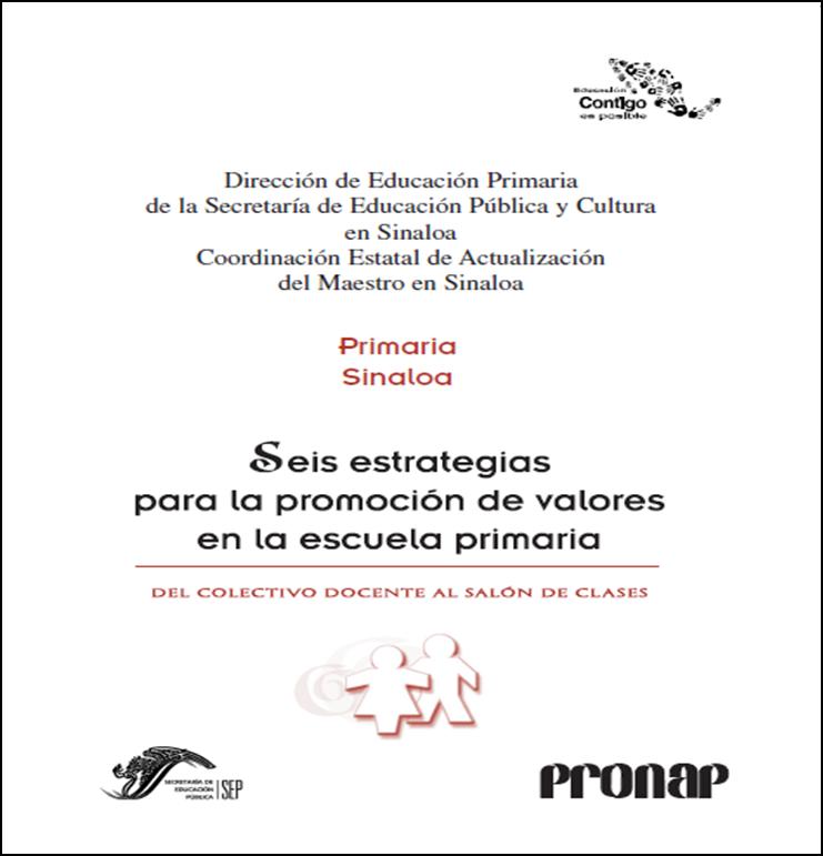 Estrategias para la promoción de valores en la Primaria