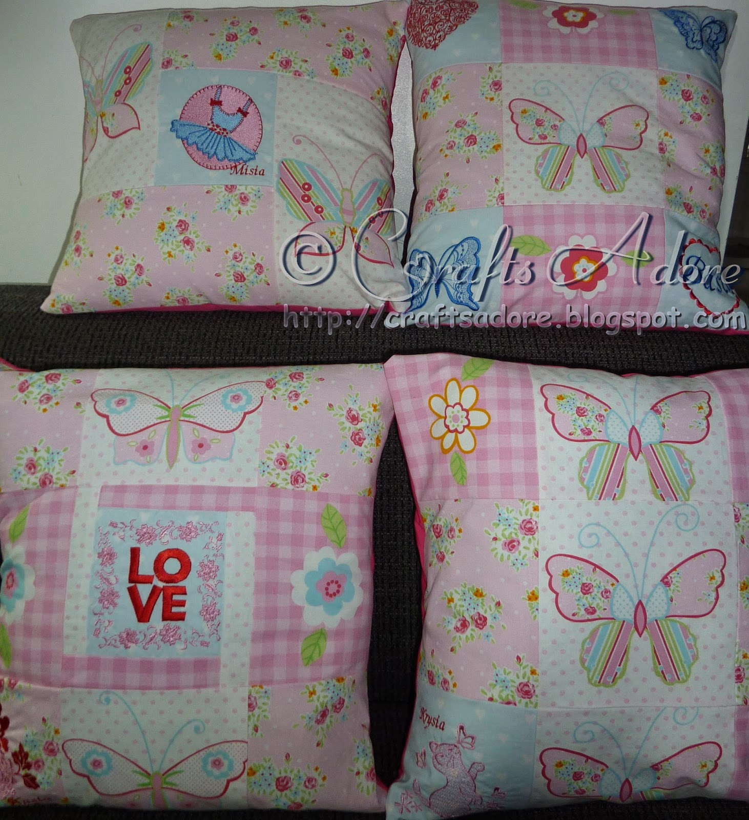 Sewing Patchwork Pillowcases