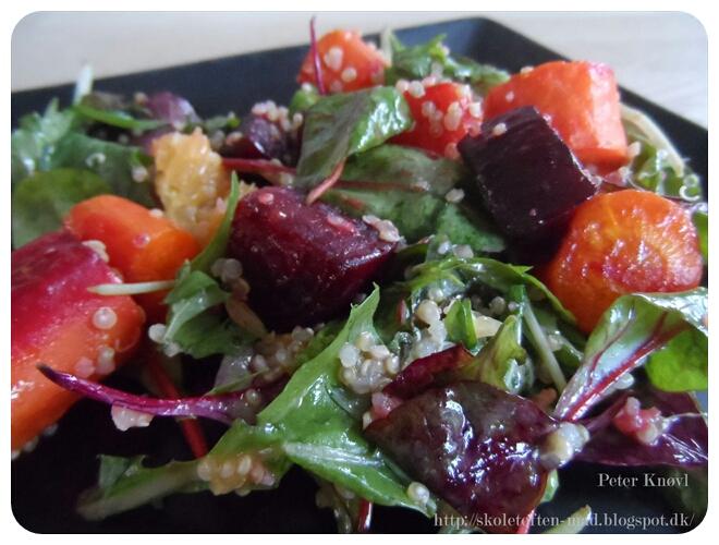 opskrifter boef bagte jordskokker salat