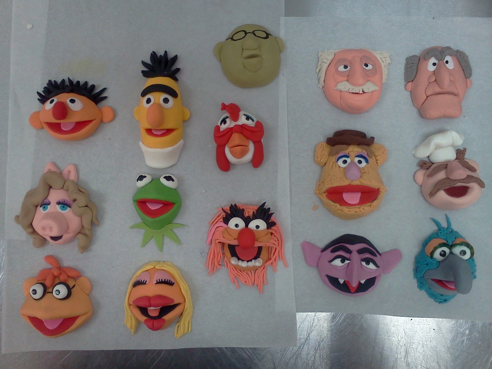 Muppets Wedding Cake Topper
