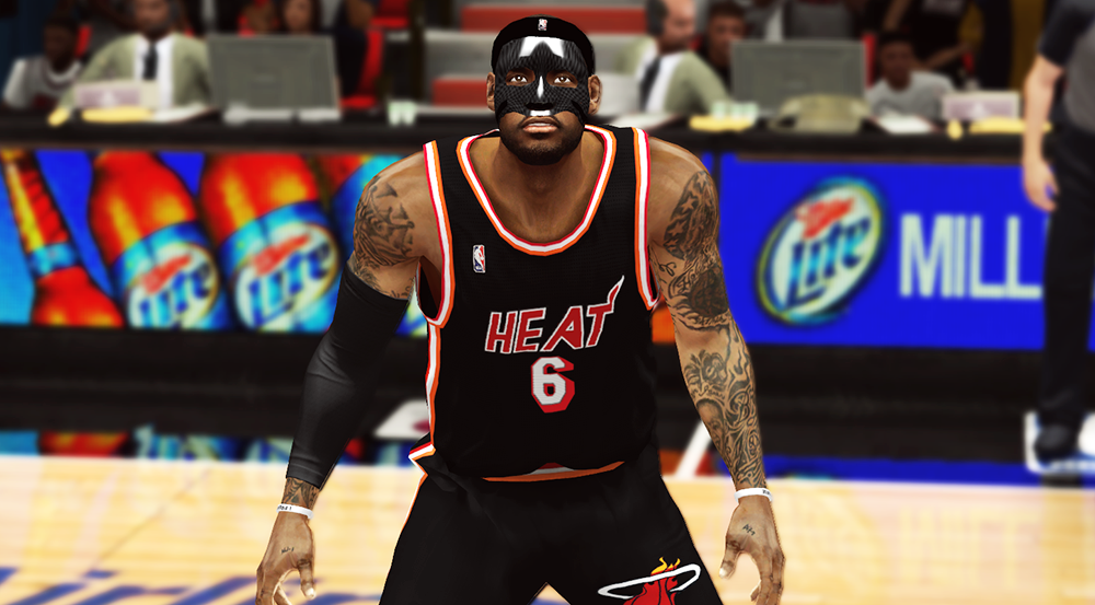 LeBron Black Mask