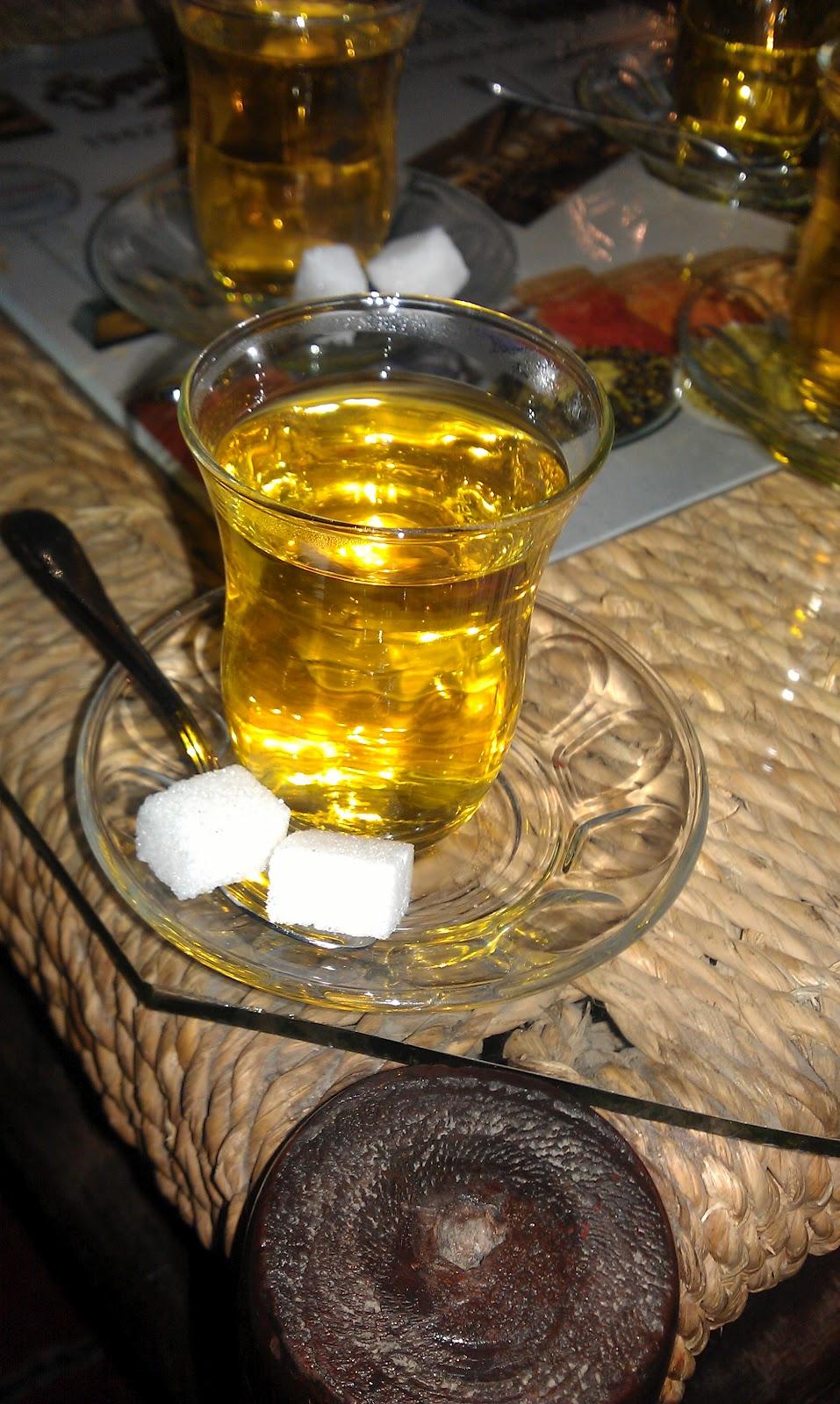 Safran çayı