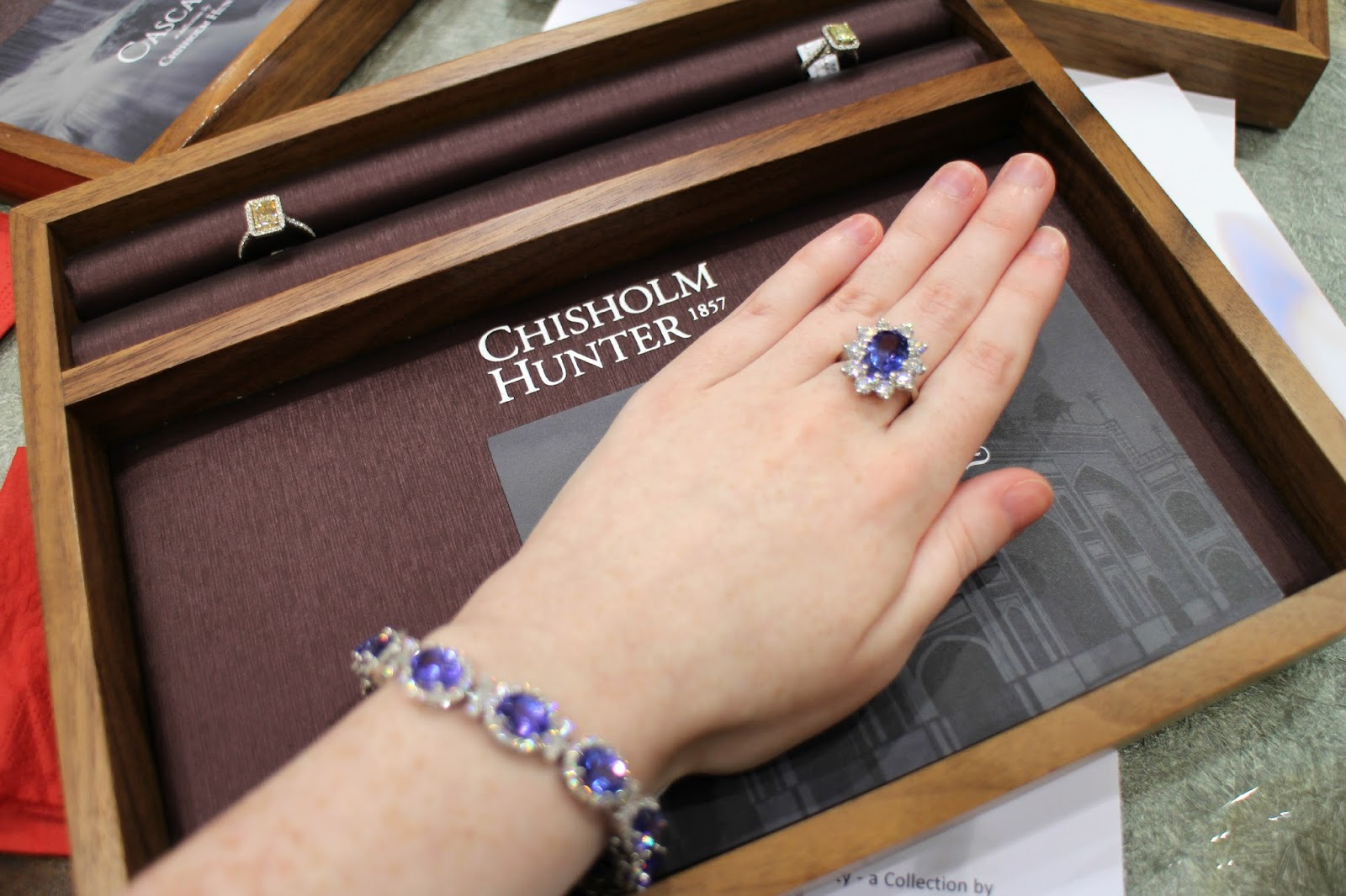 Chisholm Hunter Tanzanite