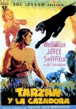 Tarzán y la cazadora (1947) Descargar y ver Online Gratis