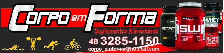 CORPO EM FORMA Suplementos Alimentares