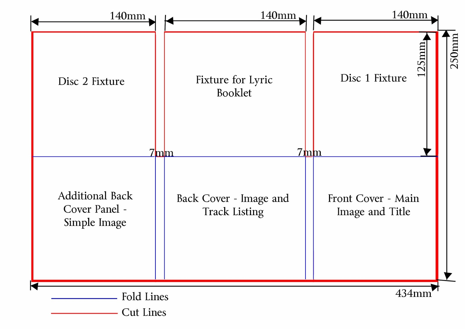 lauren barrett 5136 g324 advanced portfolio digipak skeleton layouts. Black Bedroom Furniture Sets. Home Design Ideas